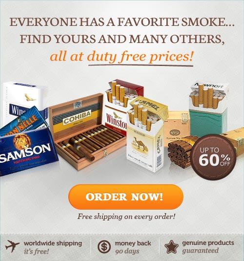 European cigarettes Dunhill New York